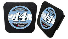 NASCAR #14 Clint Bowyer Rubber Trailer Hitch Cover-NASCAR Hitch Cover