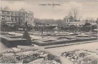 Vintage Postcard Longleat, The Gardens. F Holmes Photographer Mere Wiltshire