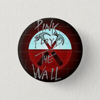 Chapa Pin Button Badge PINK FLOYD THE WALL