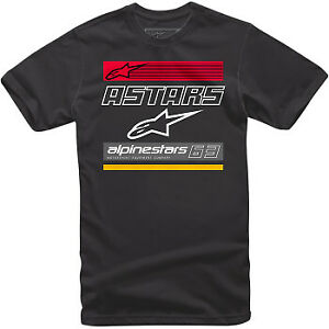 Alpinestars 2022 Quattro T-Shirt Black All Sizes