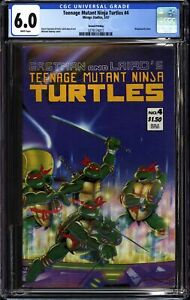 TEENAGE MUTANT NINJA TURTLES #4 (1987 Mirage) CGC 6.0 F- Second Printing