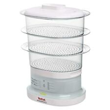 Tefal VC130115 7-Litre Capactiy 3 Tier Electric Food Steamer Aquatimer White New