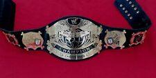 New WWF Undisputed Championship Belt, Adult Size 2mm & 4mm Brass Plates