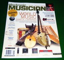CLAVIA Nord Piano 3 Keyboard, MXL DX-2 Amp Mic 2017 Electronic Musician Magazine