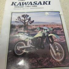CLYMER M351- KAWASAKI KDX 200- 1983-1988- SERVICE REPAIR MANUAL