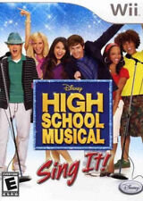 High School Musical: Sing It (Game Only) WII New Nintendo Wii