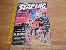 Star Trek Six Million Dollar Man Space:1999 Starlog 3 making of magazine 1970s