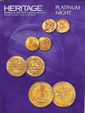 Heritage Auctions 2015.August 13 CHICAGO.PLATINUM NIGHT.WORLD & ANCIENT COINS