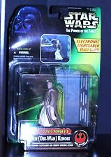 1996 Star Wars Ben Obi-Wan Kenobi Electronic Glowing Lightsaber Power F/X DUELS