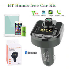 2017 Bluetooth Voiture Transmetteur FM Kit MP3 Sans fil USB Chargeur Mains Libre