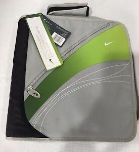 Nike 3 Ring Mead Zipper  Binder Trapper Keeper Deadstock RARE Flip Phone Pocket