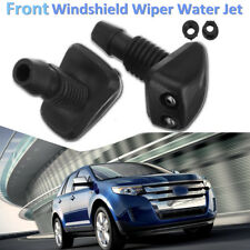 Pair of Universal Car Windscreen Washer Wiper Nozzle Front Window Spray Jet
