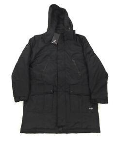 NEW Converse Sideline Down Fill Mens Parka Outdoor Winter Coat Jacket Black S