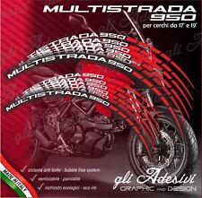 Set Adesivi Cerchi Moto Ruote DUCATI MULTISTRADA 950 bicolore a1