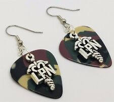 LPN Charm Guitar Pick Earrings - Pick Your Color