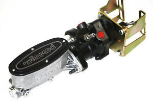 Hydroboost Brake Kit Polished Wilwood Master Cylinder A / F Body Camaro Chevelle