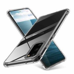Samsung Galaxy S10 S21 S20 FE Note 20 10 Case Shockproof Clear Bumper Cover TPU
