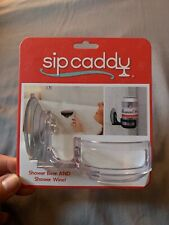 Sip Caddy for the Shower