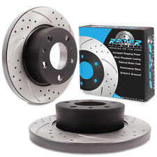 ROTORDISC REAR GROOVED DRILLED 276mm BRAKE DISCS FOR IVECO DAILY MK2 II 29 L9