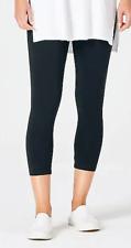 NWT - J.JILL Women's 'PIMA' Deep Blue CAPRI LEGGINGS - S (Petite)
