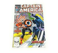Captain America (1968 series) #344 Marvel comics FAST FREE SHIPPING!!!