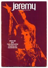 JEREMY Magazine Vol 1 No 4 1969 Quentin Crisp Scott+John Walker Marsha Hunt