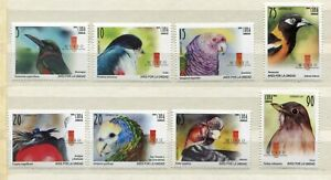 FAUNA_1104 2010 birds 8 pc MNH Combined payments & shipping