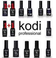 Kodi Rubber Top Base Coat Soak Off Gel Polish Led UV 7/12/14 ml Original