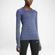 Nike Dri Fit Knit Long Sleeve Running top Women's Size  M