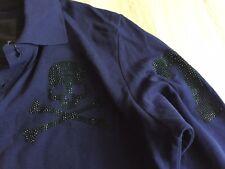 PHILIPP PLEIN Sweatshirt Polo Shirt Langarm Longsleeve Blogger Size L