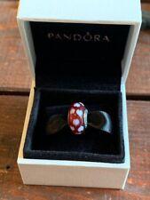 Pandora Murano Glass Red Heart Charm