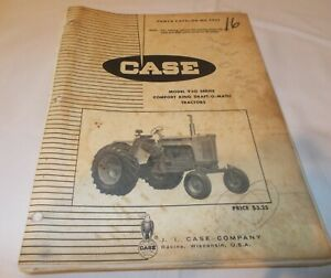Vintage Case 930 Series Comfort King Draft-O-Matic Tractor Parts Catalog #C929