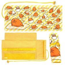 2016 Sanrio Gudetama Egg Can Be Rolled Pencil Bag ~ New