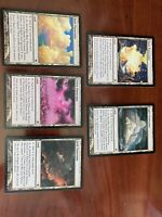 Panorama Fetch Lands Full Set (5 Cards)- Shards Of A Lara- EX/NM -Jund Bant (RG)