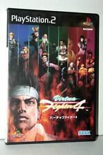 VIRTUA FIGHTER 4 GIOCO USATO OTTIMO SONY PS2 EDIZIONE JAPAN NTSC/J SC2 40249
