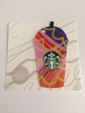 *STARBUCKS* Card - NEW Never Been Used 'Pink Cup' 2017 Card NO $ Value