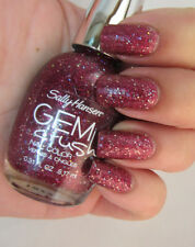 NEW! Sally Hansen GEM CRUSH Nail Polish Lacquer in LADY LUCK #07