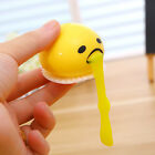 1Pc Funny Soft Lazy Gudetama Vomiting Egg Toy Yolk Squeeze Out Shocker Game Toys