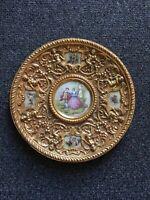 "Arnart Fragonard Porcelain Royal Vienna Style Art Plate 10.5"""