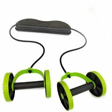 Abs Elastic Stretching Abdominal Muscle Wheels RollerTraining Fitness Equipment