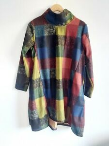 NEW SOFT TOUCH LONG TUNIC JUMPER TOP SIZE XL FIT 14/16