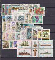 S17524) Italy MNH 1979 Complete Year Set 42v