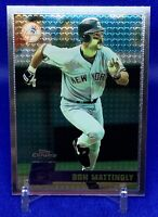 1996 Topps Chrome Baseball #56-Don Mattingly-New York Yankees-Super Clean Base!