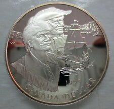 1995 CANADA 325th HUDSON BAY ANNIVERSARY SILVER DOLLAR COIN