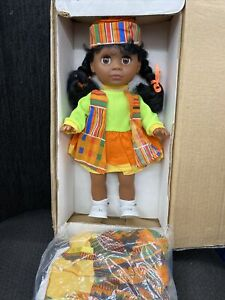 Africa American Girl Doll with Outfits and Accessories
