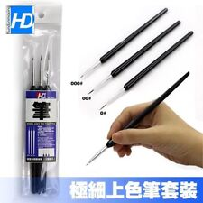 Model Tools Add Colour Hook Line Pen Microbrush Set  Ultra Fine pen (3pcs)