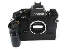 CANON NEW F-1 Gehäuse, body,  AE-Finder, AE Power Winder FN  * Fotofachhändler *