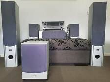 5.1 home theater system | denon AVR-589 with welling speakers & s