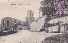 LA PLUME église éd lannes timbrée