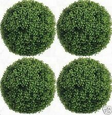"""4 ARTIFICIAL 16"""" BOXWOOD BALL TOPIARY OUTDOOR BUSH UV RATED PLANT POOL 15 YARD"""
